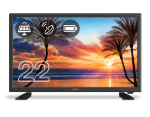"Cello 22"" Solar Battery LED TV"