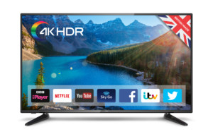 "Cello C43SFS4K 43"" 4k LED TV"