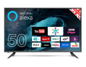 "50 inch TV - Cello C50FVP 50"" led tv with alexa"