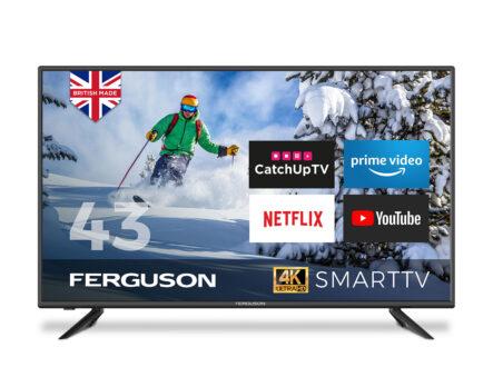 43 inch 4k tv - ferguson F43RTS4K