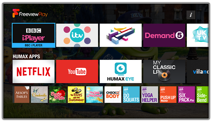 Humax Freeview Home