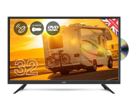 Cello-12v-C32F-LED-TV-HD-Ready-w/-DVD-Player-&-Satellite-Tuner