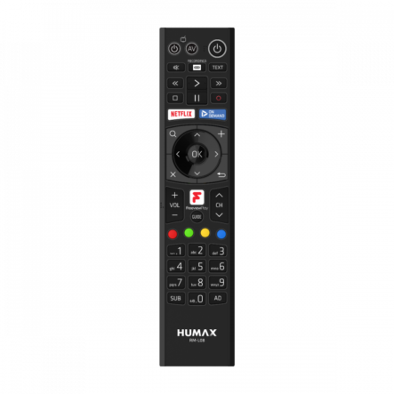 Humax RM-L08 Freeview Play Remote
