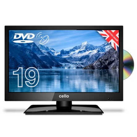 Cello-C1920FS-12v-19-Inch-HD-LED-TV-for-campervan-w/-Satellite-Tuner,-DVD-Player-&-Freeview-T2-HD-new-2020-model
