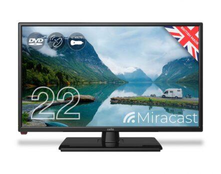 Cello-C2220FMTR-22-Inch-Full-HD-12-Volt-Traveller-TV-W/-DVD Player,-Satellite-Tuner-&-Miracast-new-2020-model