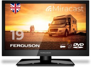 Ferguson 19 inch 12V Traveller Satellite LED TV DVD 2020 Model